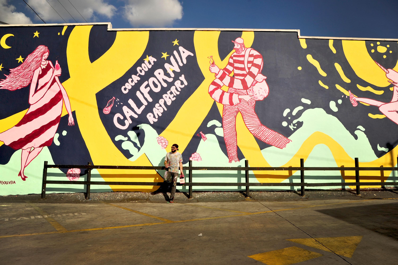 Geoff Gouveia Creates Coca-Cola California Inspired Piece